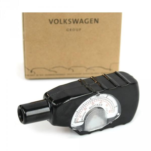 Original Audi VW Skoda Seat Reifendruckmesser Räder Reifen Messgerät Luftdruck