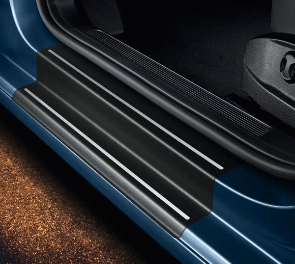 VW Caddy 4 Ladekantenschutz 3D CARBON SCHWARZ