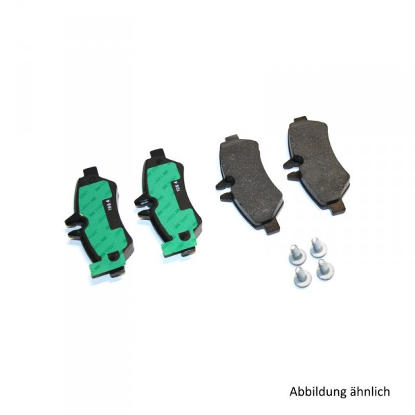 VW Crafter 2E Bremsbeläge Original Volkswagen 2E0698451H Hinterachse bis 3.5t zul. Gesamtgewicht