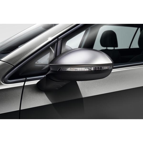 Original VW Golf 8 (5H) ID.3 Spiegelkappen Chrom Matt Tuning Design Außenspiegel