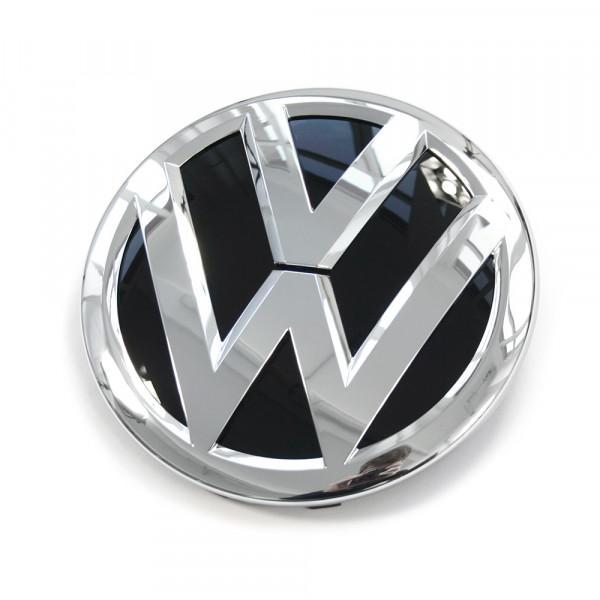 Original VW-Emblem vorn Kühlergrill Emblem Logo chrom schwarz