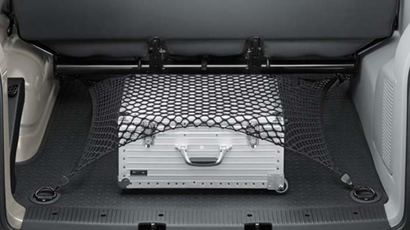 gep cknetz original vw t5 t6 kofferraum netz zubeh r. Black Bedroom Furniture Sets. Home Design Ideas