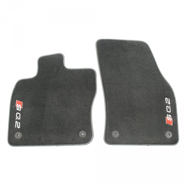 Original Audi SQ2 Premium Velours Fußmatten Textilfußmatten Stoffmatten 2x vorn