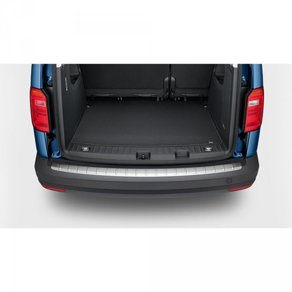 VW Caddy 4 Ladekantenschutz Edelstahloptik Original Schutz Ladekanten Leiste 2K5061195