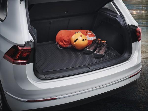 Original VW Tiguan Kofferraumeinlage Gepäckraumeinlage 5NA061160A Basis Ladeboden