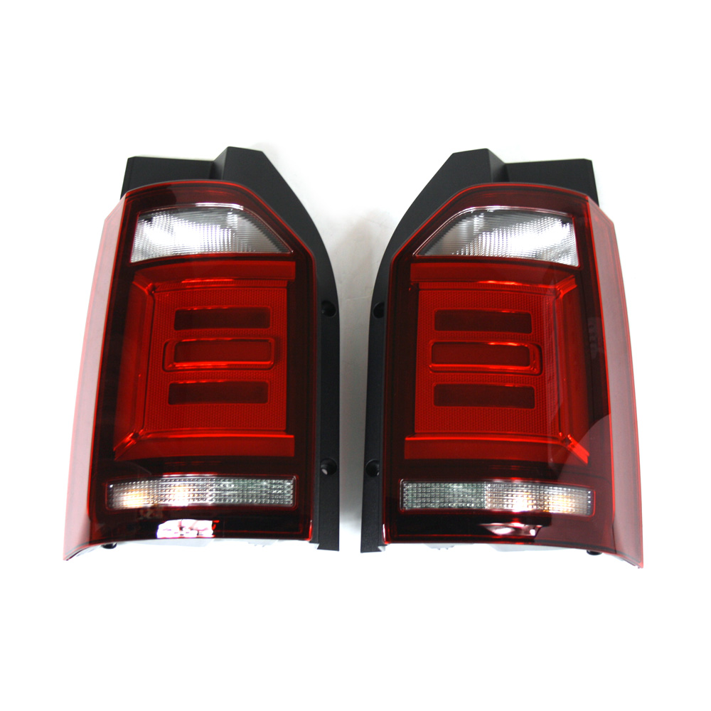 original vw t6 led schlussleuchten set abgedunkelt tuning. Black Bedroom Furniture Sets. Home Design Ideas