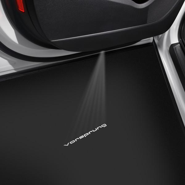 """LED Einstiegsleuchten Original Audi Einstiegsbeleuchtung """"Vorsprung"""" Projektor 4G0052133M"""