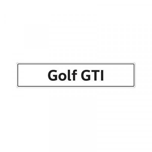 Original VW Kennzeichenschild Golf GTI Nummernschild Kennzeichen Typenschild 5K0071801H