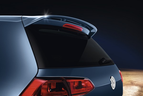 Original VW Dachkantenspoiler Golf 7 (5G) Nachrüstsatz Tuning Heckspoiler