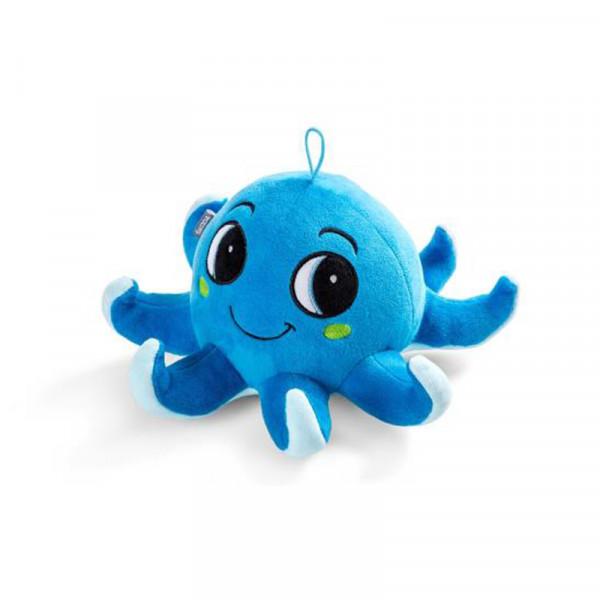Original Skoda Octopus Plüschtier OCTAVIUS Plüsch Krake Tintenfisch Kuscheltier blau
