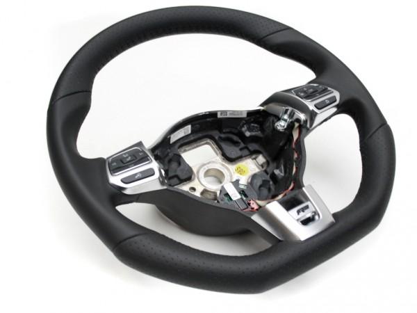 VW R-Line Sport Multifunktionslenkrad Leder schwarze Naht, Golf 6, Passat, Scirocco Tiguan