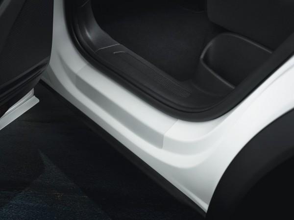 VW Tiguan II MQB Schutzfolie Original Volkswagen Folie Einstiegsleiste transparent hinten