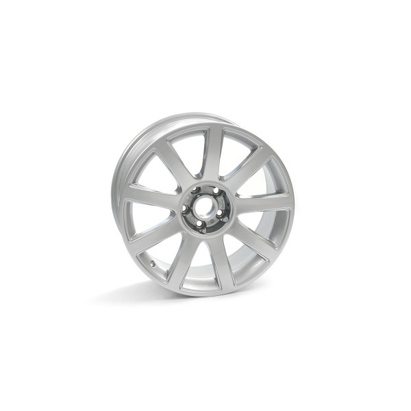 Original Audi RS4 (8D) Aluminiumfelge 18 Zoll Leichtmetallfelge silber 8 1/2Jx18