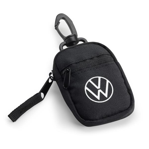 Original VW Schlüsseltasche Etui RFID-Schutz Autoschlüssel New Volkswagen Logo 1H2087402