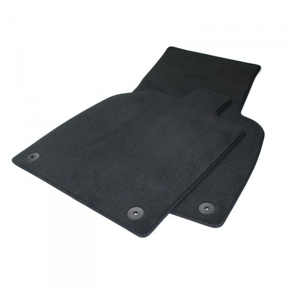 Original Audi R8 (4S) Coupe Spyder Premium Velours Fußmatten Textilmatten schwarz vorn