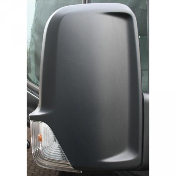 Original VW Crafter (2E) Abdeckkappe für Spiegel rechts Spiegelkappe schwarz