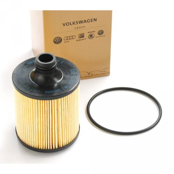Original Audi SQ7 (4M) Ölfilter Filtereinsatz 4.0 TDI Filter 8-Zylinder
