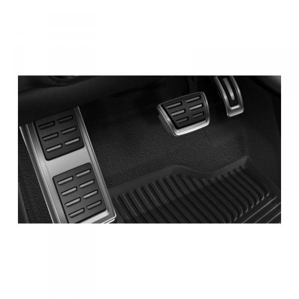 Original Audi A1 S1 Sportback Facelift Pedalset Fußstütze Pedalkappen Edelstahl Automatik