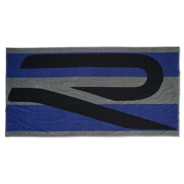 Original VW Badetuch R Handtuch Strandhandtuch Badelaken schwarz/blau/grau 5H6084500