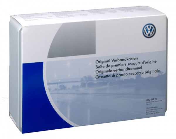 Verbandkasten Original VW Zubehör Erste-Hilfe-Kasten Universal DIN13164