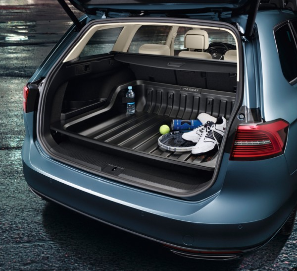 Gepäckraumwanne VW Passat (B8) Original Wanne Variant Kofferraum Zubehör