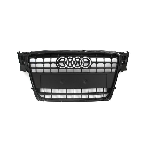 Original Audi A4 (B8 8K) Kühlergrill schwarz Tuning Design Grill Frontgrill