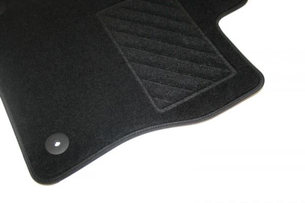 "Textilfußmatten ""Plus"" vorn+hinten Original VW Touareg 7P Matten Satinschwarz"