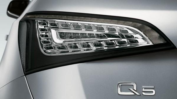 Original Audi SQ5 / Q5 8R LED Klarglas Rückleuchten