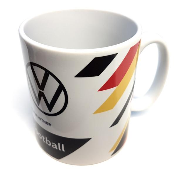 Original VW Deutschland Tasse Fußball DFB Fanartikel wedrivefootball Kaffeetasse Porzellan
