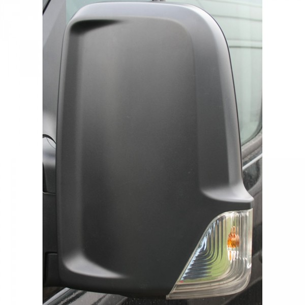 Original VW Crafter (2E) Abdeckkappe für Spiegel links Spiegelkappe schwarz