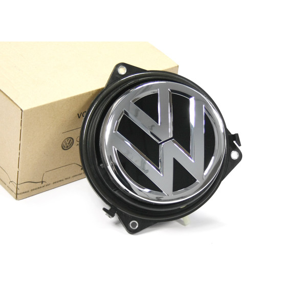 Original VW Golf 7 (5G) Limousine Betätigung Heckklappe Mikroschalter Emblem chrom
