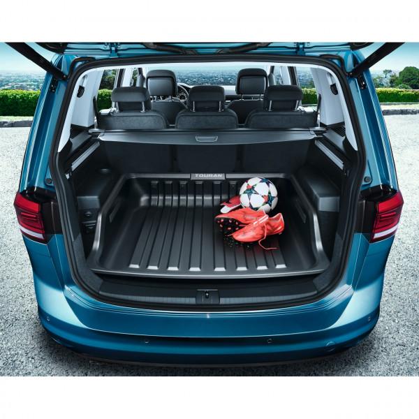 Original VW Touran Gepäckraumwanne Kofferraumwanne 5-Sitzer Basisladeboden 5QA061162