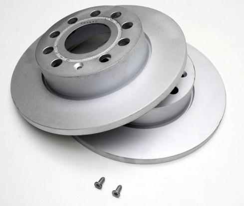 Original VW Bremsscheiben 15 Zoll hinten 268x10 Bremsen Hinterachse Scheibenbremsen 7M0615601C