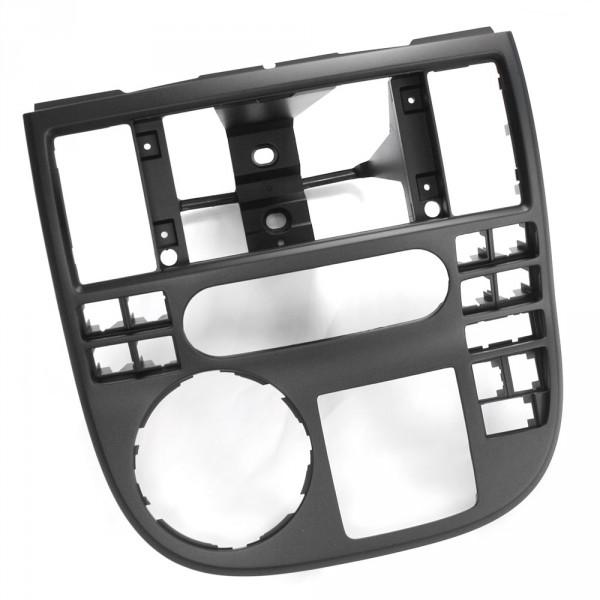 Original VW T5 Transporter Blende Schalttafel Mitte Klimaanlage Mittelkonsole schwarz