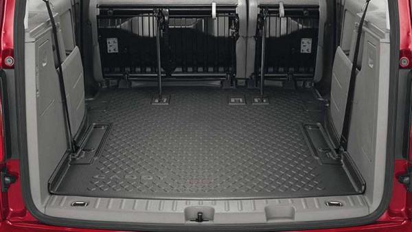 gep ckraumschale original vw caddy maxi 5 7 sitzer. Black Bedroom Furniture Sets. Home Design Ideas