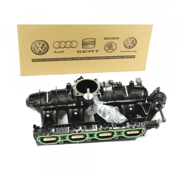 Original Audi Reparatursatz für Saugrohr 1.8 TFSI Luftzufuhr Saugstutzen 06H198221A