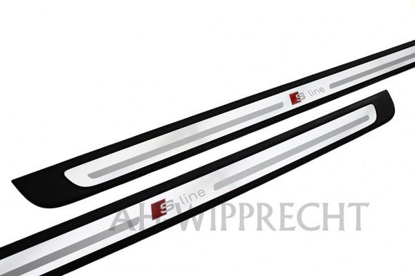 Original Audi S1 / A1 S-Line Einstiegsleisten Satz 3-Türer