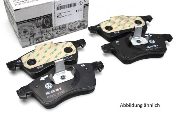 Original Audi Bremsbeläge Set vorn A6 Bremsen 4B0698151H