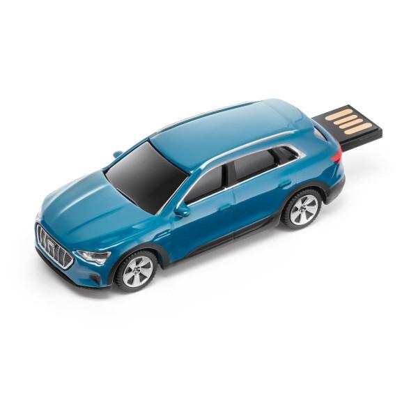 Original Audi Sport e-tron USB-Stick 32 GB Speicherstick Datenspeicher blau 3221900100