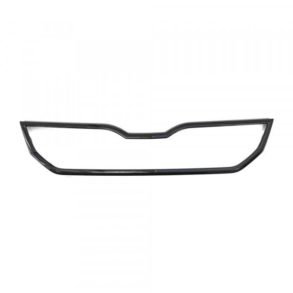 Original Skoda Citigo Facelift Monte Carlo Abdeckleiste Kühlergrill Tuning schwarz glänzend