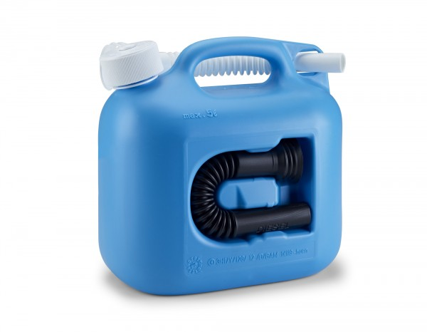 Reservekanister 5 Liter, Benzinkanister universal Kanister Behälter
