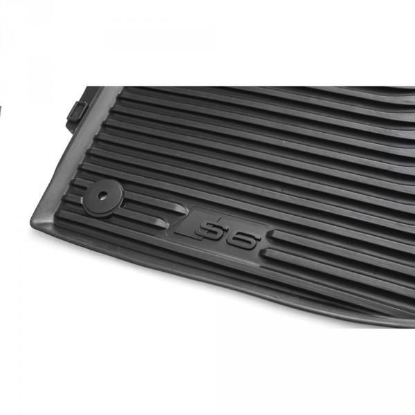 Audi S6 Gummifußmatten vorn Original Gummi Fußmatten 2-teilig