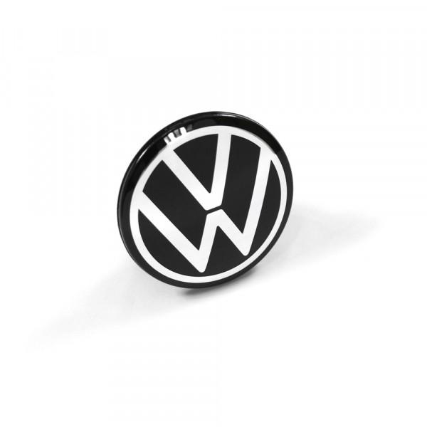 Original VW ID.3 Nabenkappe Design Abdeckkappe Nabenabdeckung Alufelge schwarz pure white