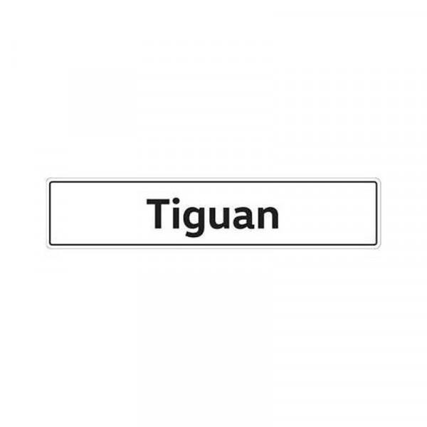 Original VW Kennzeichenschild Tiguan Nummernschild Kennzeichen Typenschild 5N0071801A