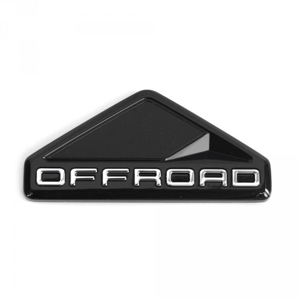 Original VW Offroad Plakette seitlich Logo Emblem satinschwarz chromglanz
