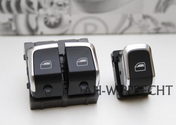 Original Audi A5 S5 RS5 Alu Schalter Fensterheber Set