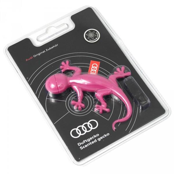 "Duftspender Audi Original Duftgecko pink Zubehör universal ""blumig-süß"""