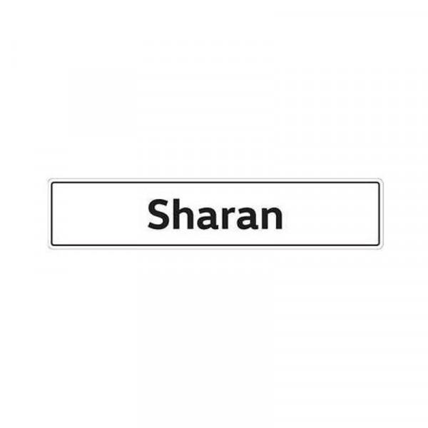 Original VW Kennzeichenschild Sharan Nummernschild Kennzeichen Typenschild 7N0071801A