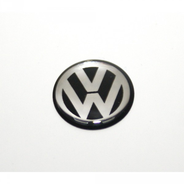 VW Emblem Zeichen Autoschlüssel Zündschlüssel Plakette 10mm