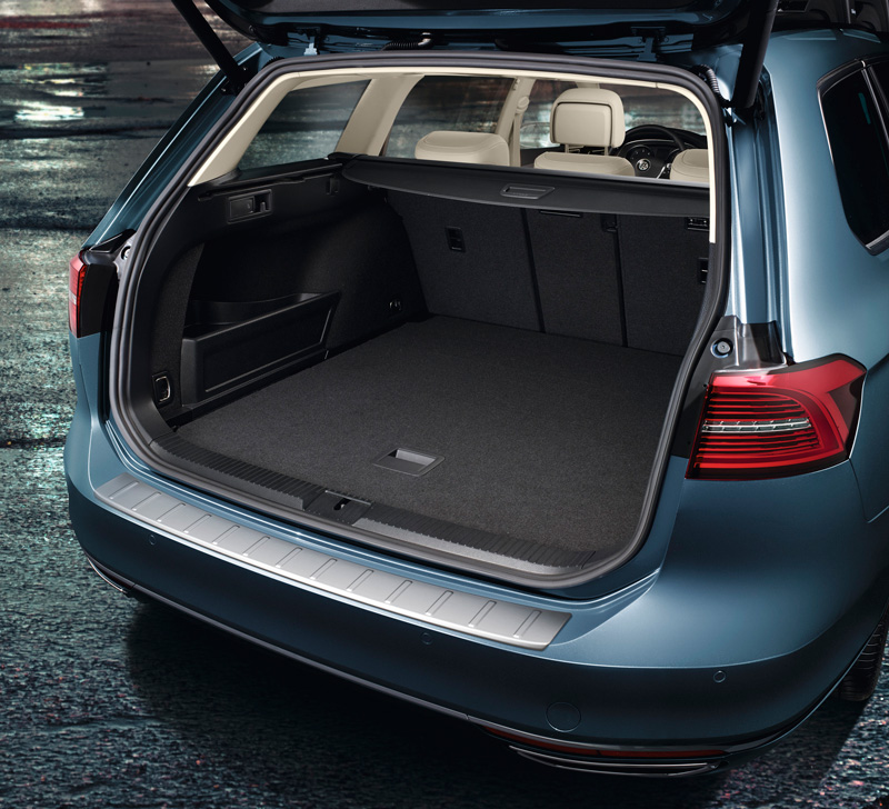 ladekantenschutz vw passat b8 3g variant alltrack. Black Bedroom Furniture Sets. Home Design Ideas